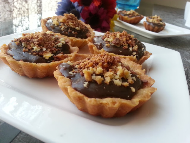 Chocolate Tarts.