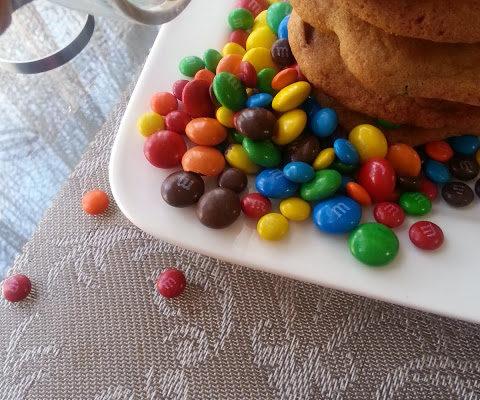 M&M Cookies.