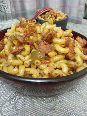 Spicy Chicken Macroni