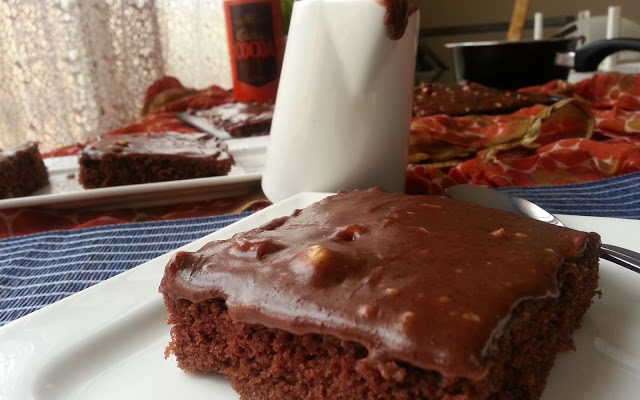 The Best Chocolate Sheet Cake.