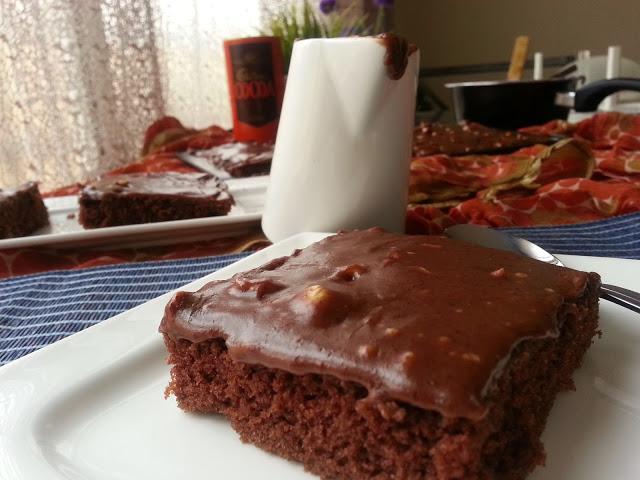 The Best Chocolate Sheet Cake.