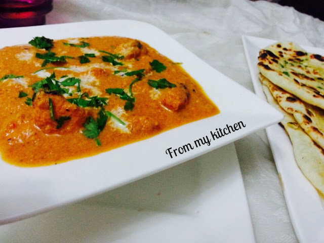 Butter Chicken.