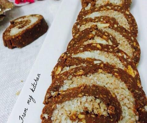 Nutella Bounty Swiss Rolls.