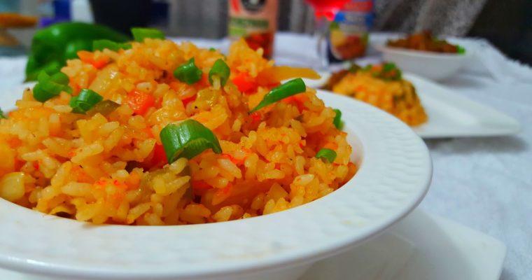 Szechwan Fried Rice.