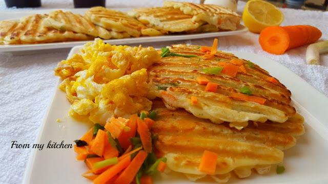 Savoury Pancakes.