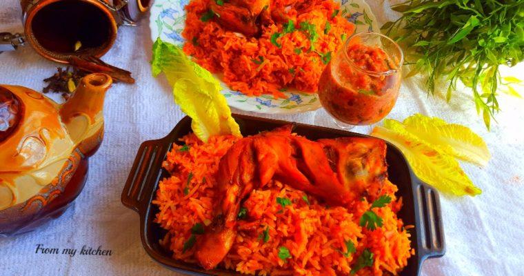 Chicken Kabsa.