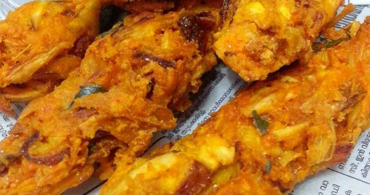 Kozhikal (Tapioca Finger Fritters)