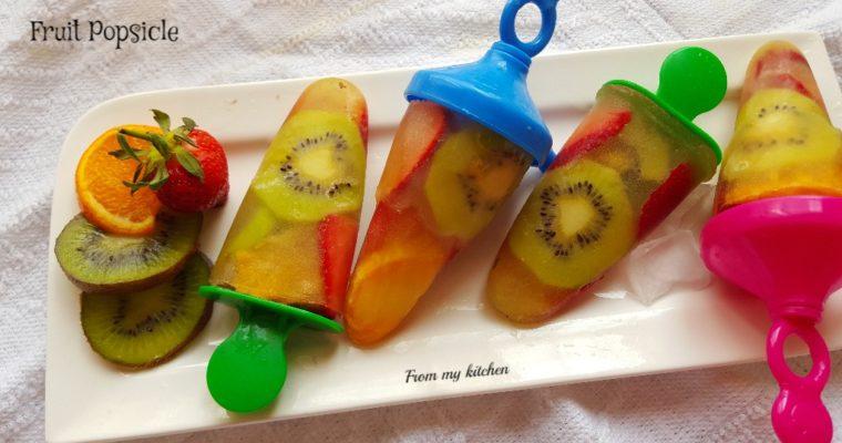 Fruit Popsicle.