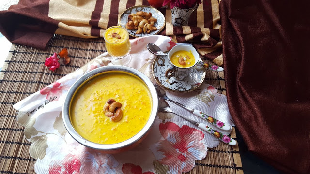 Carrot & Apple Kheer/Payasam.