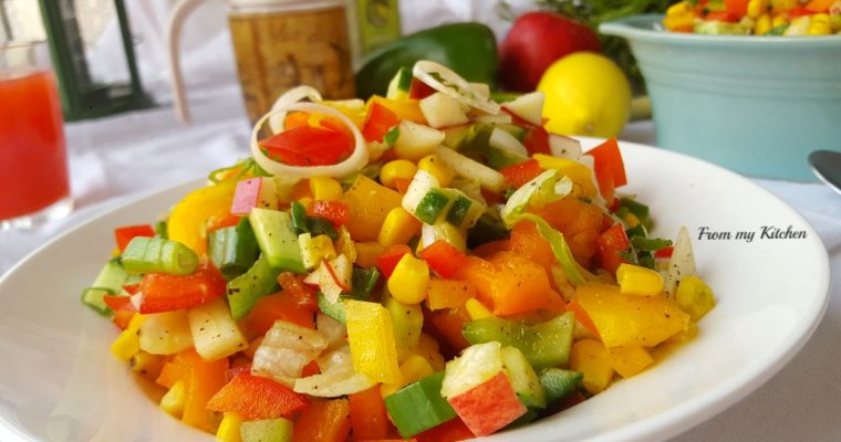 Sweet Corn Salad.