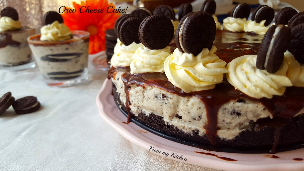 No Bake Oreo Cheesecake.