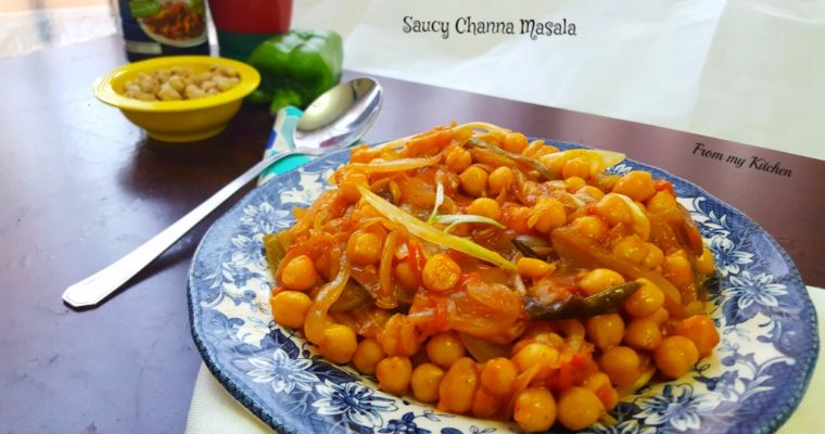 Saucy Chana Masala!