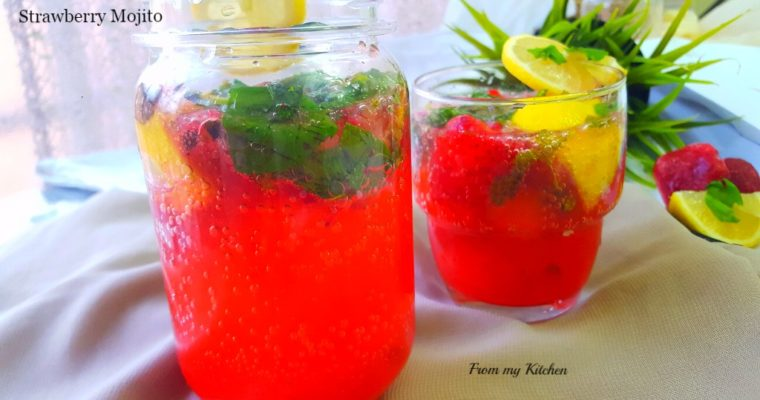 Strawberry Mojito.