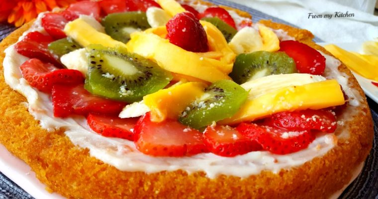 Dessert/Fruit Pizza.