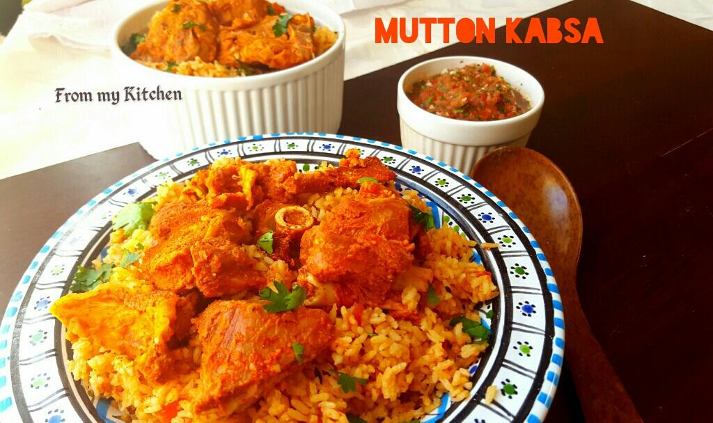 Mutton Kabsa.