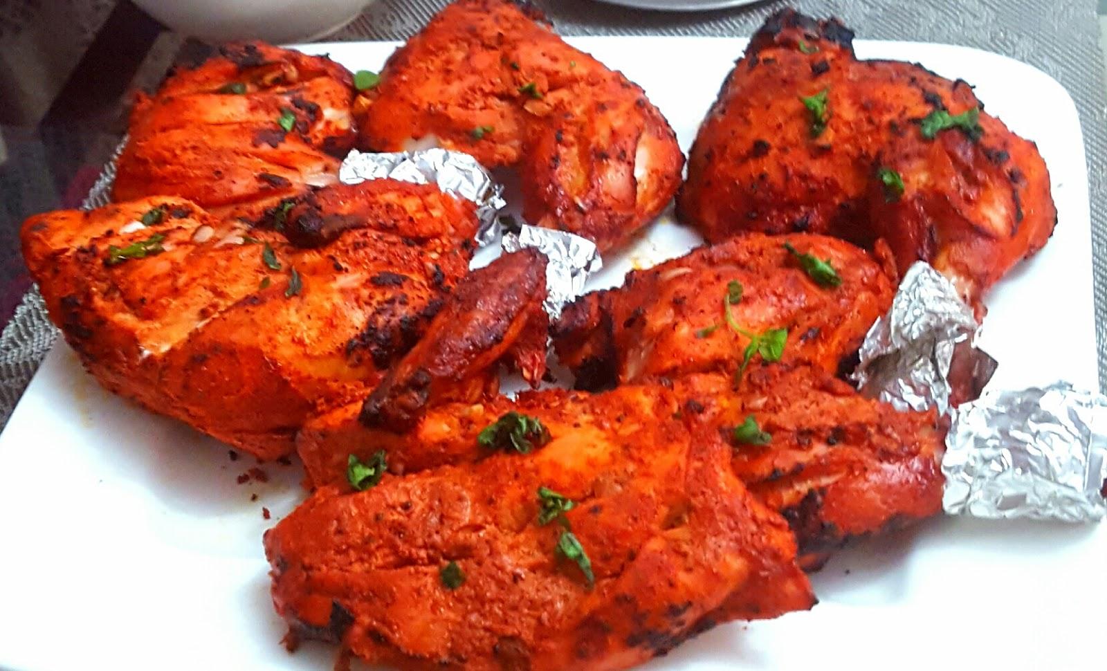 Tandoori Chicken From My Kitchen