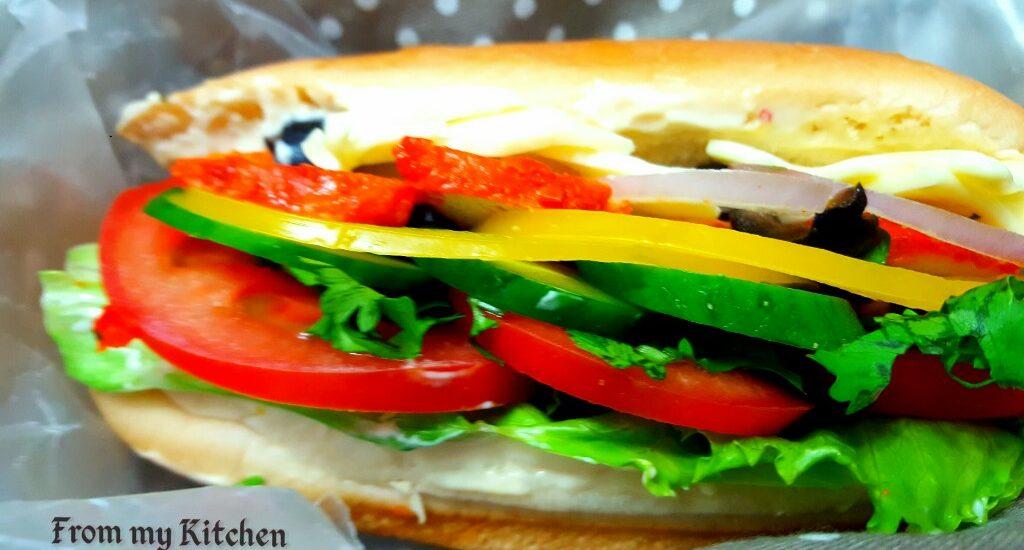 Chicken Sandwich with Chips.