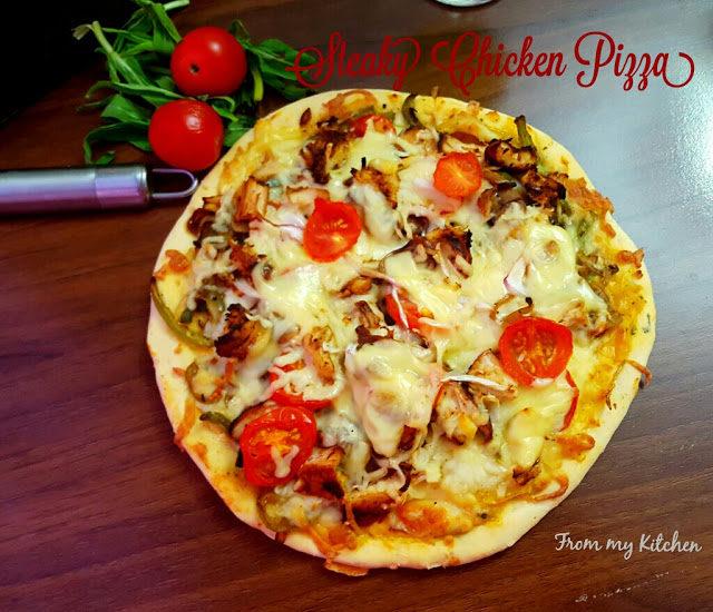 Steaky Chicken Pizza & Pizza Bites