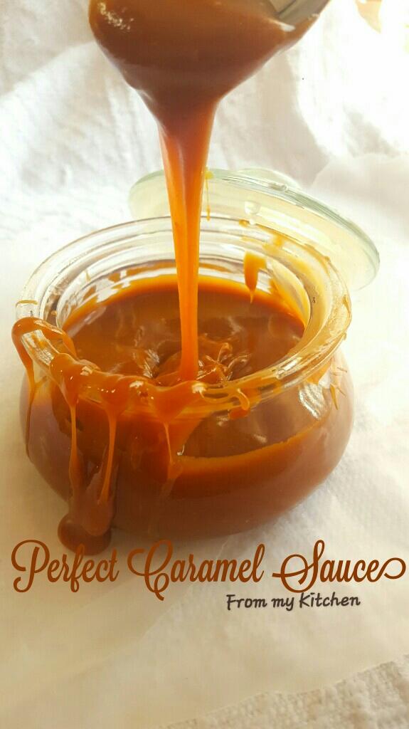The Perfect Caramel Sauce