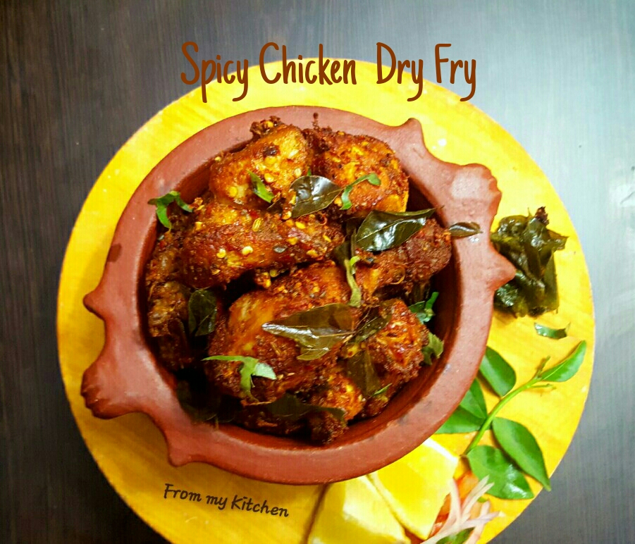 Spicy Chicken Dry Fry