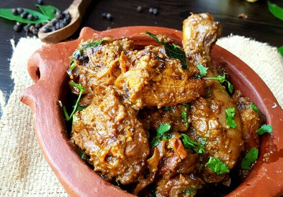 Chicken Perlan cooked in Handi(Clay Pot)