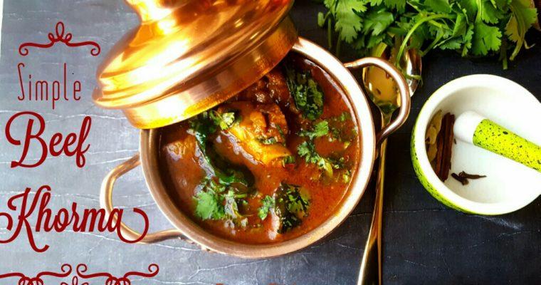 Simple Beef Khorma