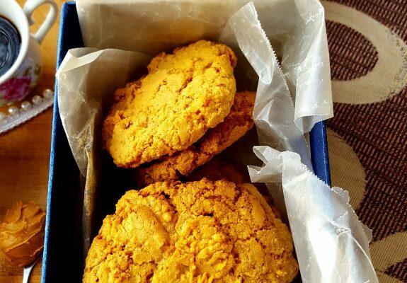 Biscoff Oatmeal Crunchy Cookies