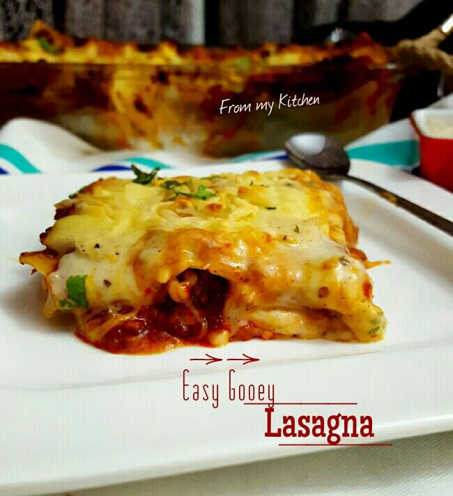 Easy Gooey Lasagna
