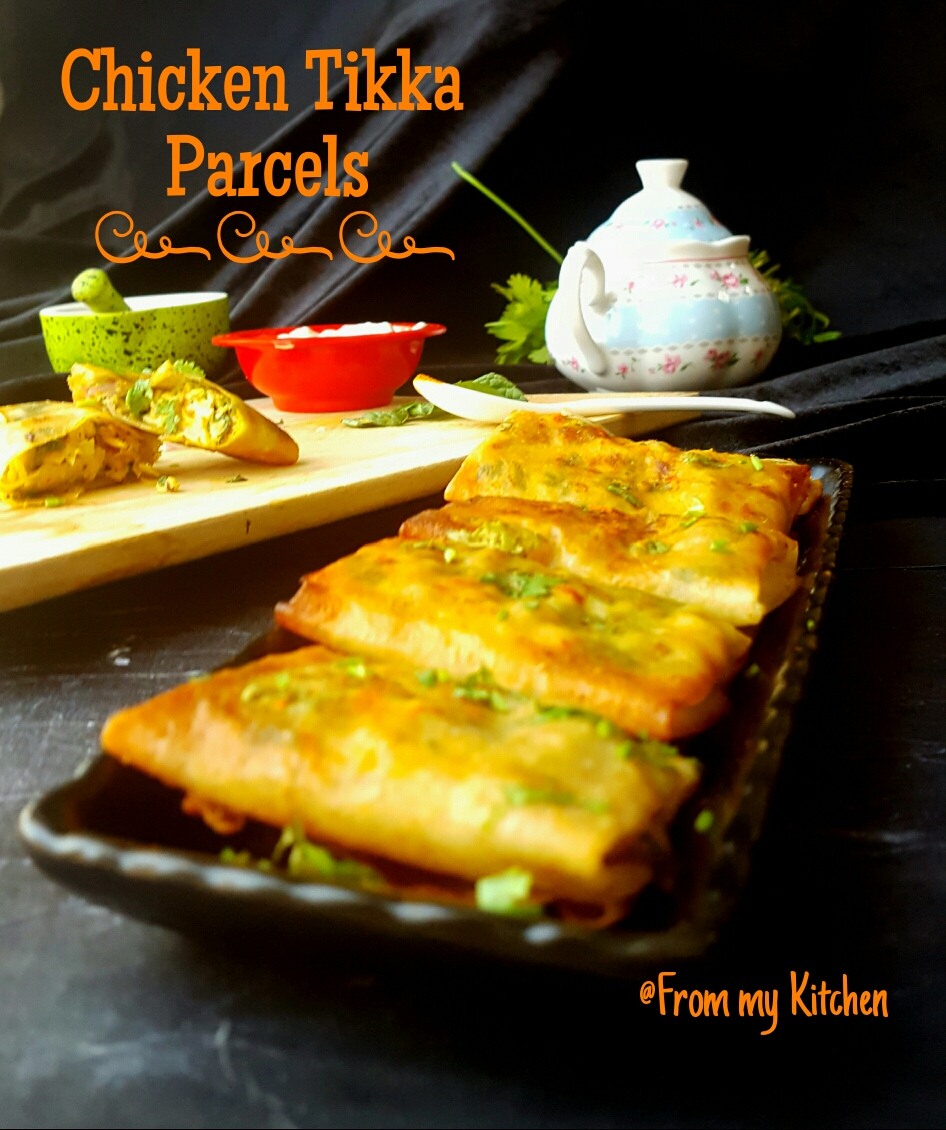 Chicken Tikka Parcels