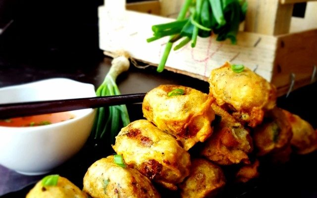 Fish & Potato Fritters