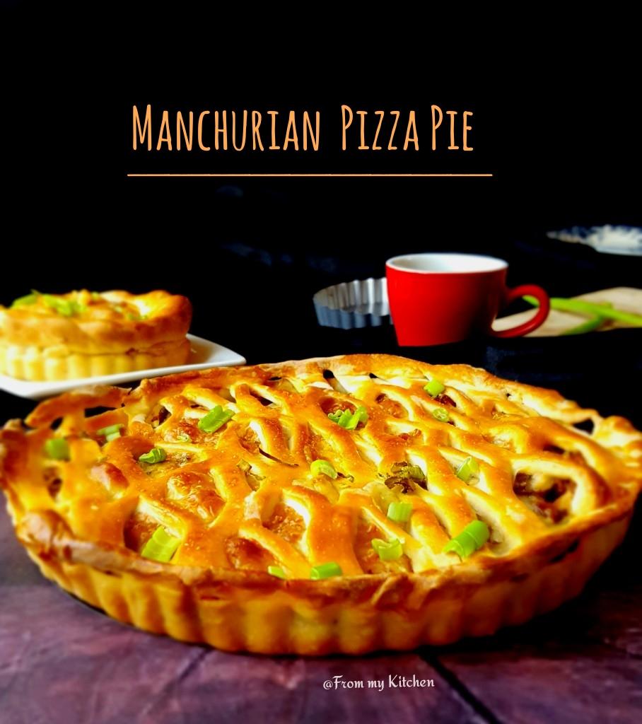 Manchurian Pizza Pie