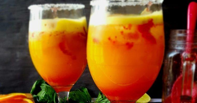 Orange Strawberry Lemon Crush