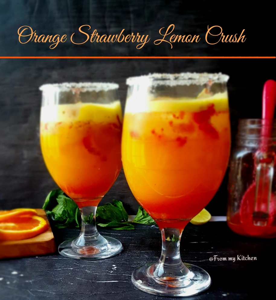 Orange Strawberry Lemon Crush