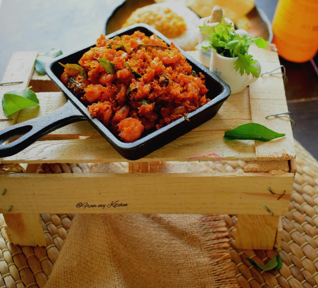Prawn Coconut Stir Fry