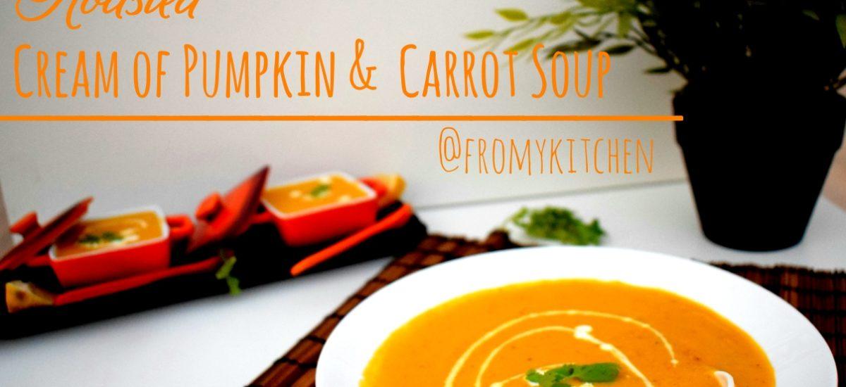 Cream Of Pumpkin & Carrot Soup