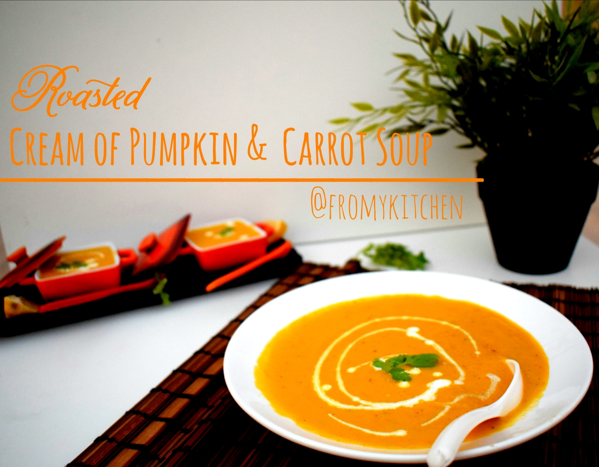 Cream Of Pumpkin & Carrot Soup