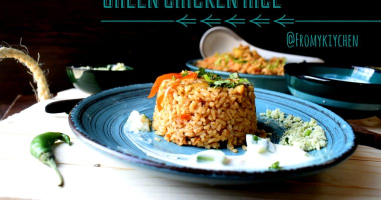 Green Chicken Rice