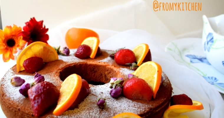 Orange Chiffon Cake!