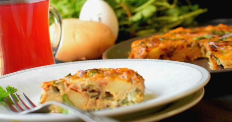 Spanish Omelette / Tortilla Espanola