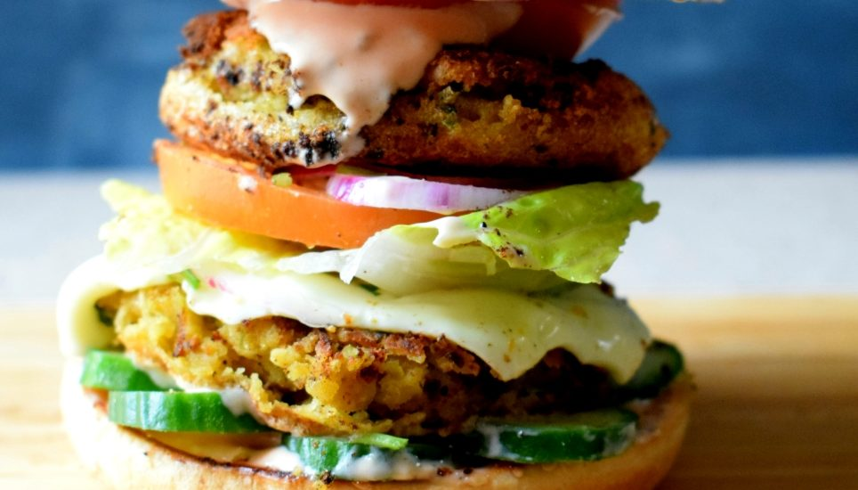 Ultimate Chickpea Burger