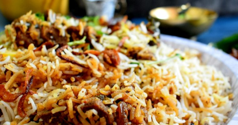 Hyderabadi Mutton Dum Biriyani