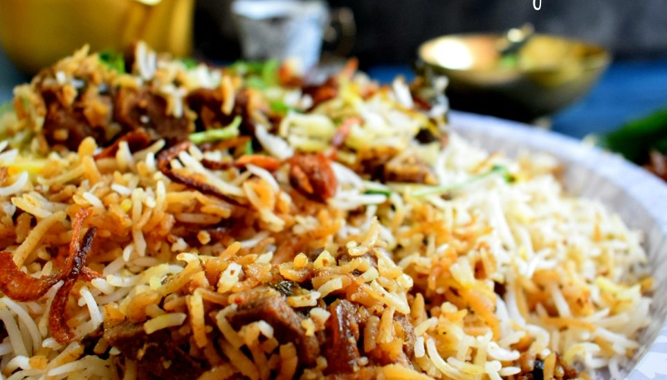 Hyderabadi Mutton Dum Biriyani