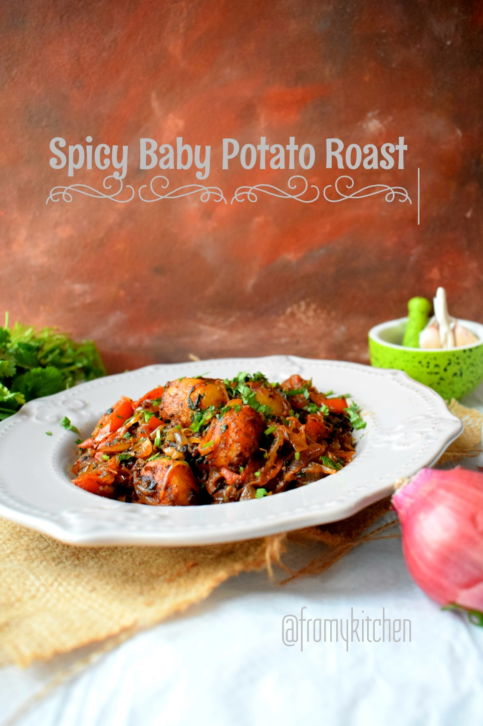 Spicy Baby Potato Roast