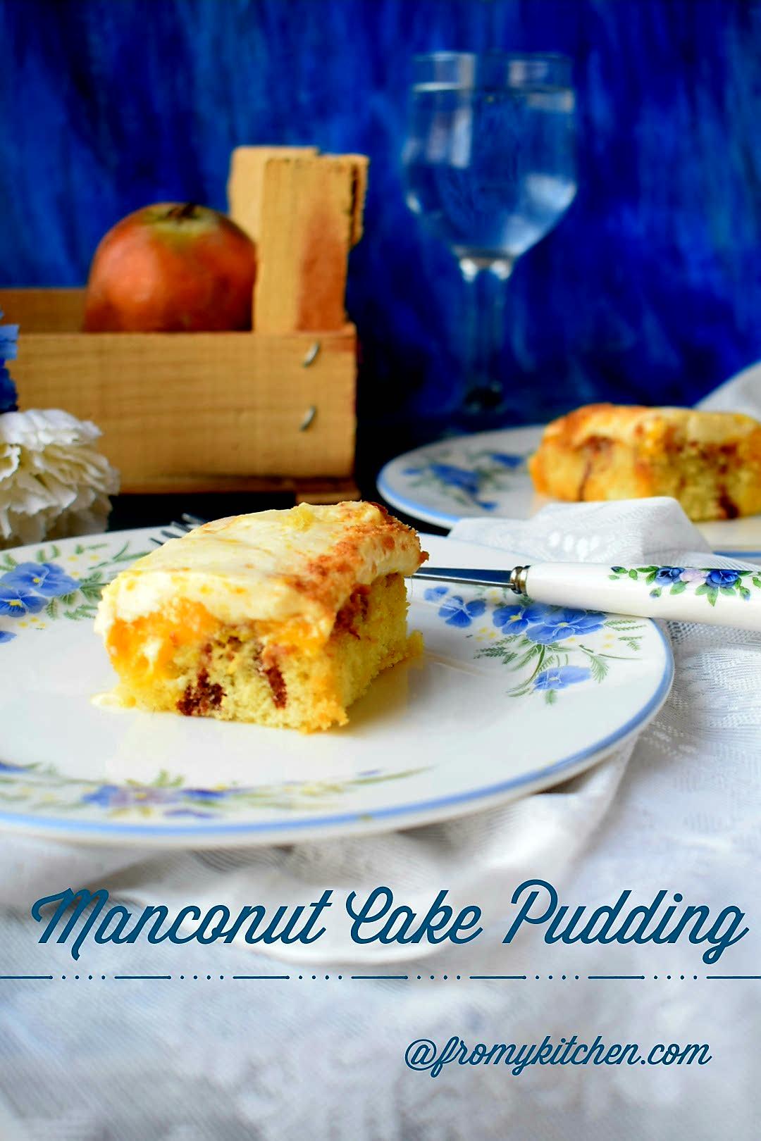 Manconut Pudding (Mango+Coconut)