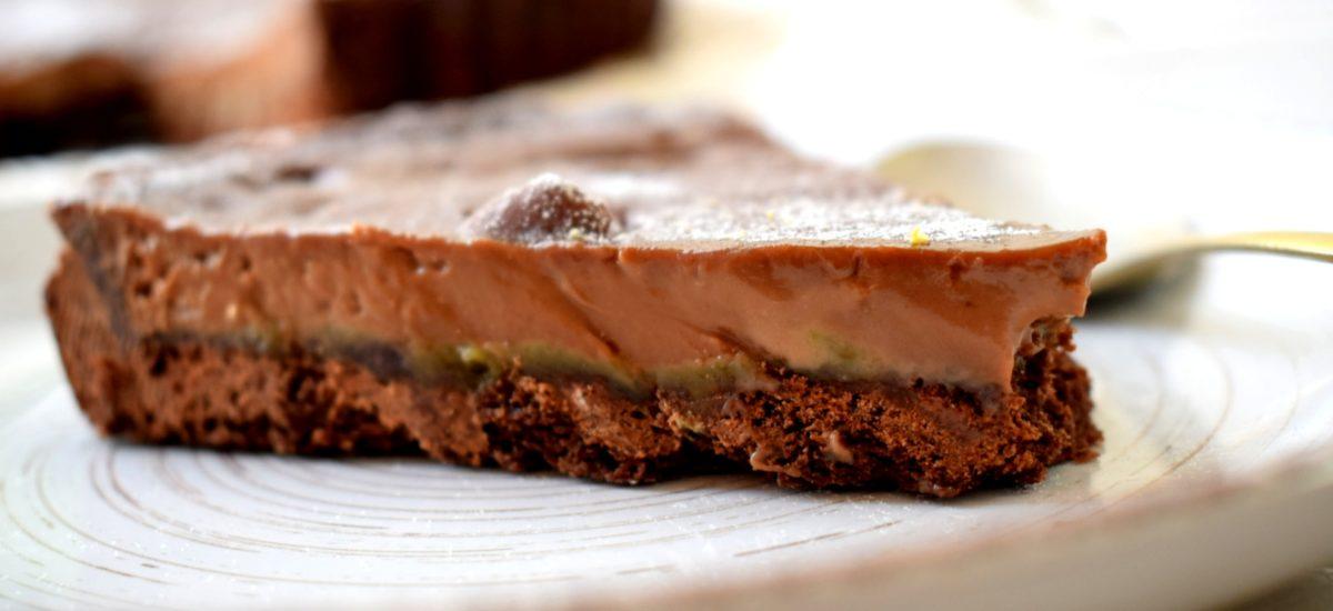 Milk Chocolate & Pistachio Tart