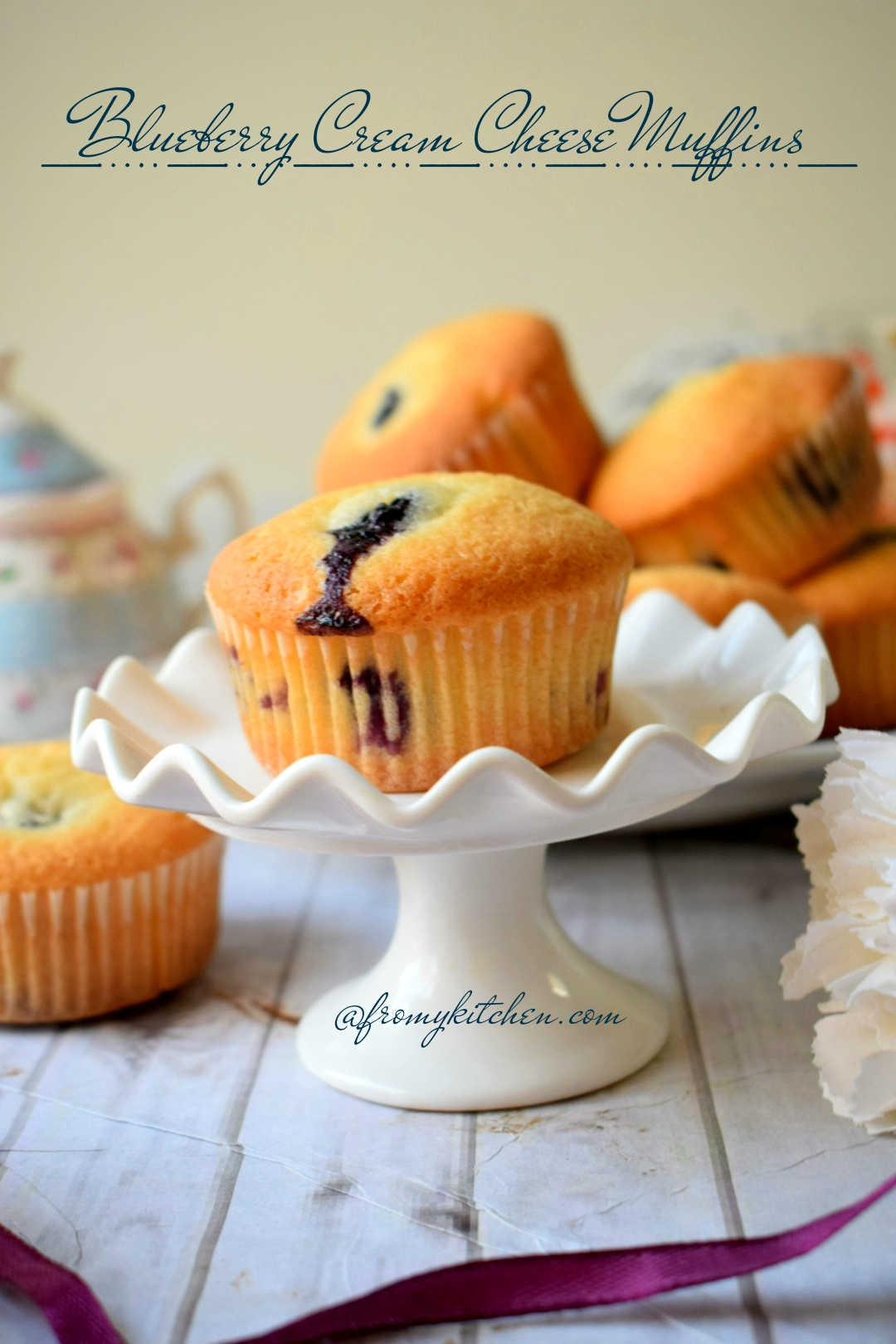 Bluerberry Cream Cheese Muffins