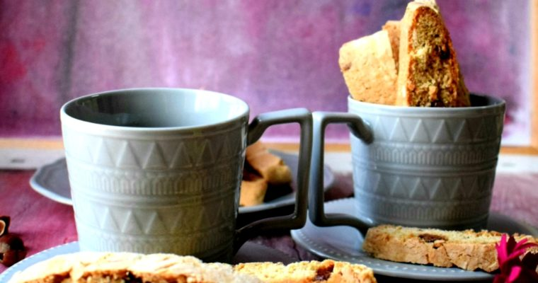 Cappuccino Chocolate Biscotti