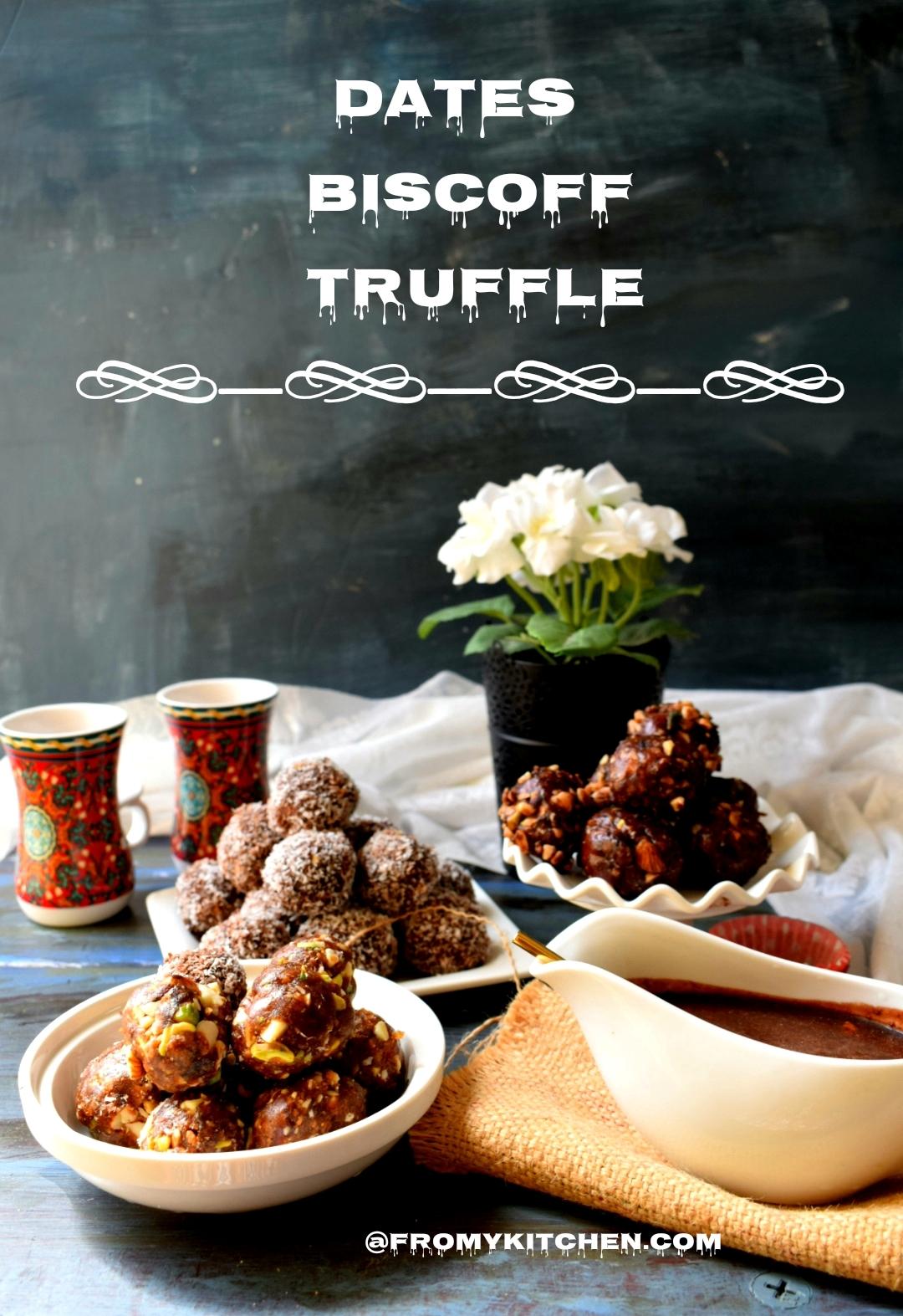 Dates Biscoff Truffle