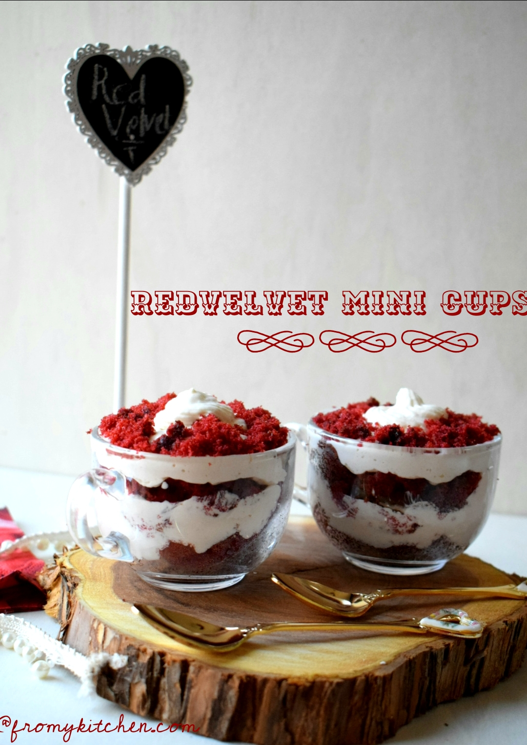Red Velvet Mini Cups