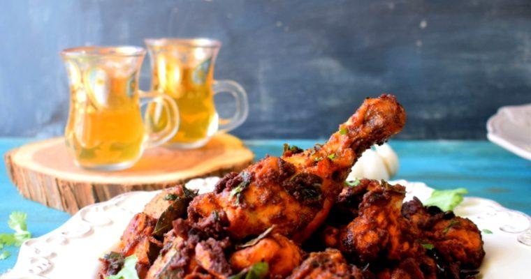 Easy Kerala Style Garlic Chicken